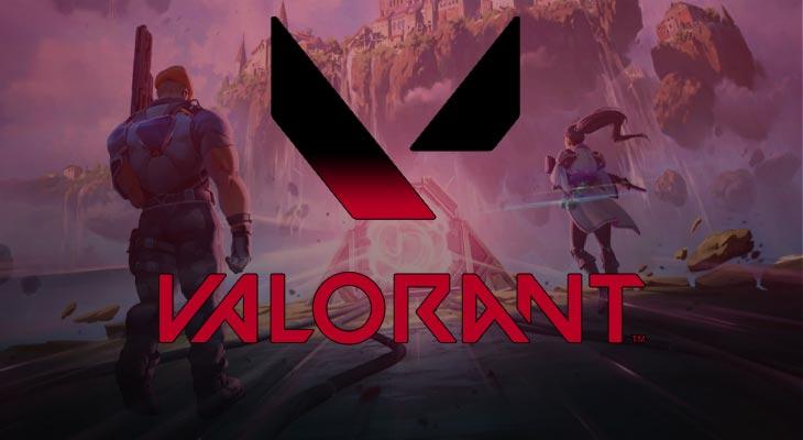Valorant Logo Présentation