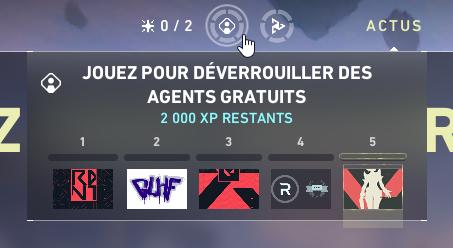 Valorant Mission Débloquer Agents