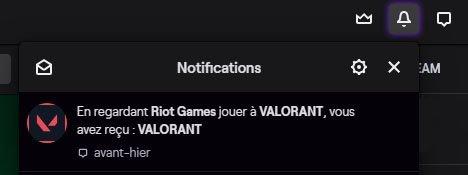 Valorant Beta Notification Twitch
