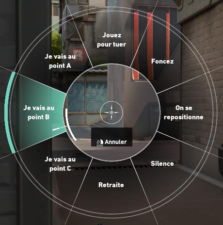 Valorant : Roue de Communication