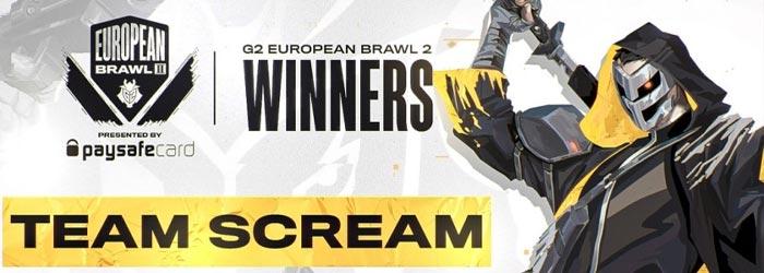 Bannière G2 European Brawl