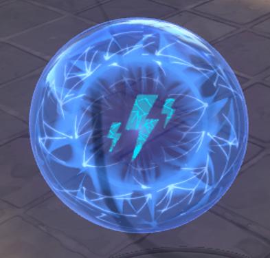 Orbe Bleu du Spike Rush de Valorant