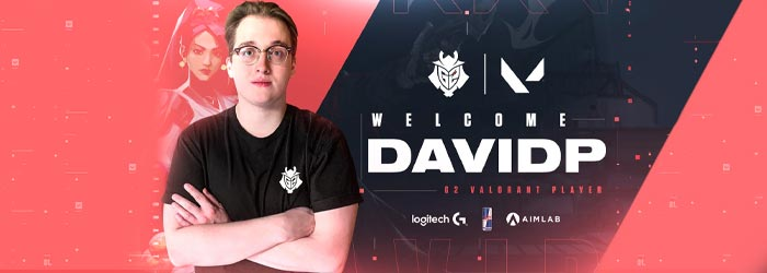 Davidp rejoint G2 Esports