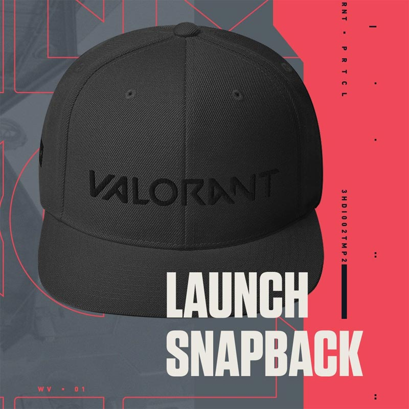 Valorant : Casquette Snapback