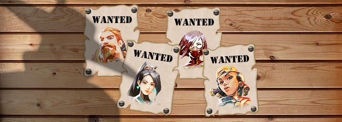 Valorant : Wanted Posters