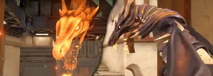 Elderflame : Des skins dragons pour Valorant