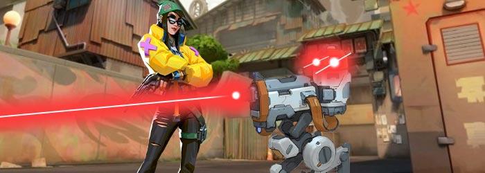 Bug : La Tourelle de Killjoy tire à travers les murs de Split - valorant news bug killjoy - Mandatory.gg