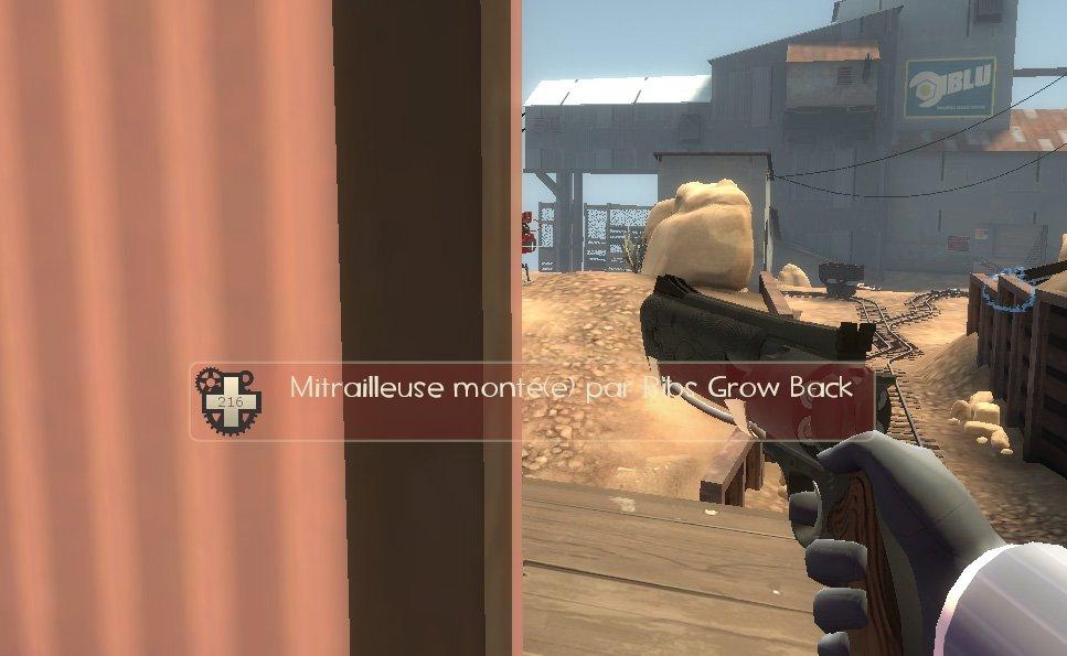 Le Sliver Peek dans Team Fortress 2