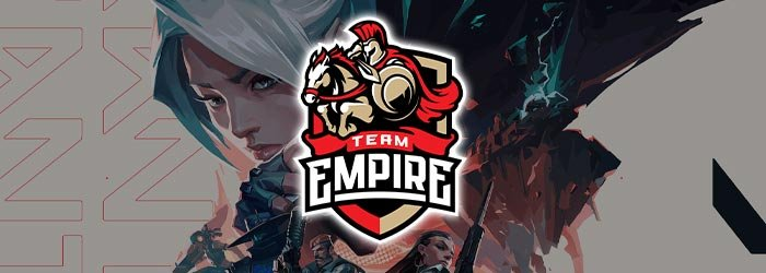 Team Empire annonce son équipe Valorant