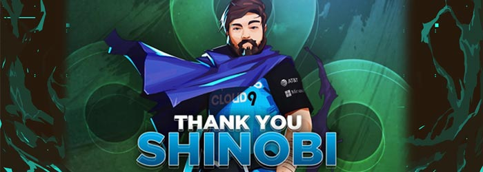 Cloud9 lets Shinobi go