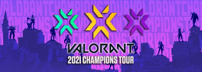 Etapes du Valorant Champions Tour