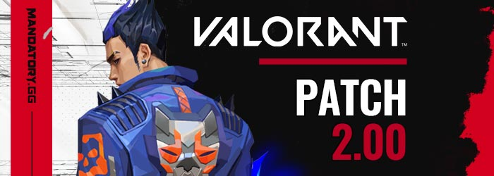 Notes de Patch 2.00 de Valorant - valorant patch 20 yoru - Mandatory.gg