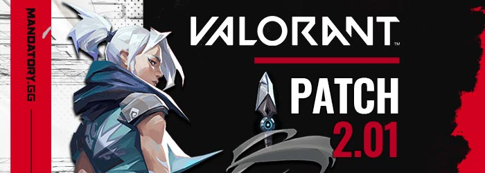 Notes Patch 2.01 de Valorant