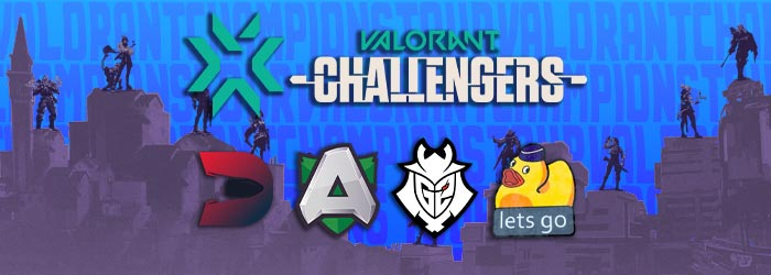 VCT : Valorant Challengers EU 2 : Jour 1 - Play In