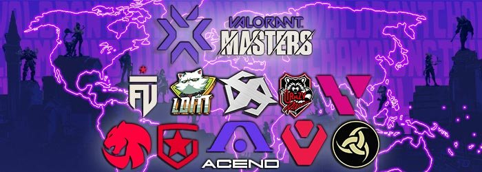 All winners of the Valorant Masters 1