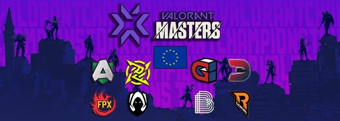 Valorant Masters EU 1 Programme
