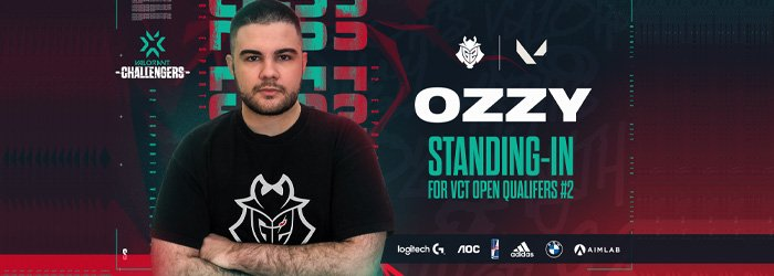 Ozzy remplace Zeek chez G2 esports