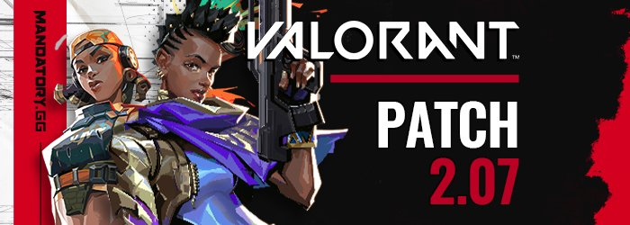 Patch Notes 2.07 de Valorant