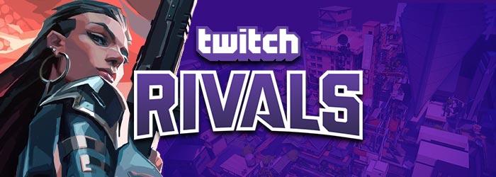 Twitch Rivals pour le lancement de Valorant