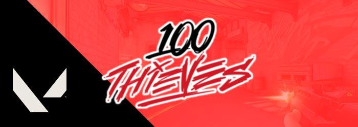 Valorant : L'équipe 100 Thieves