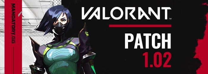 Valorant : Patch Note 1.02 (Ranked, Surrender)