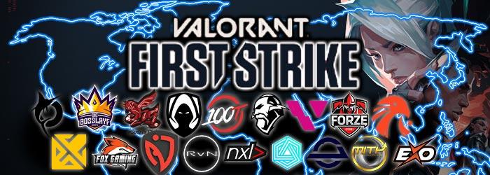 Tous les Gagnants des Valorant First Strike