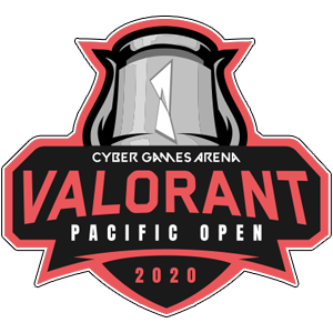 Logo : Cyber Game Arena Valorant Pacific Open 2020