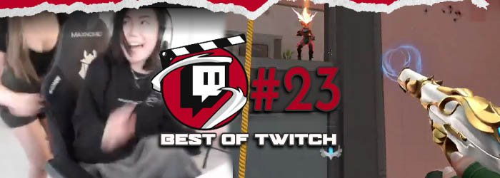 Best of Valorant's Twitch Clips : Week 23