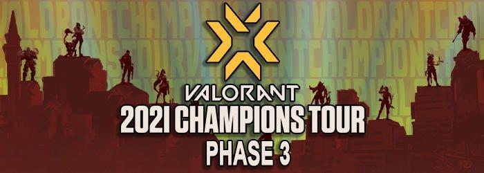 Tout savoir sur l'Épisode 3 de Valorant - valorant champions tour phase 3 programme - Mandatory.gg