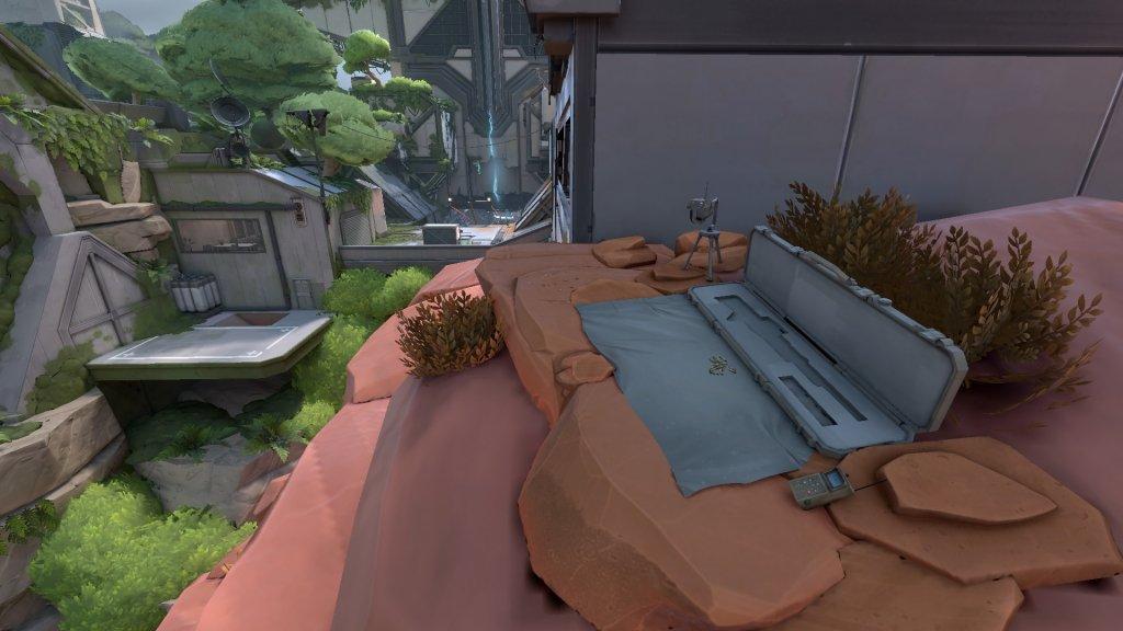 L'armement de sniper côté Oméga
