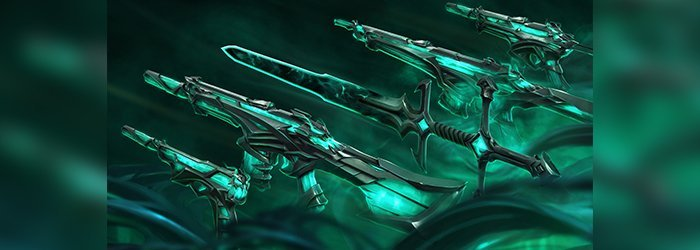 Ruination, the new Valorant skins collection
