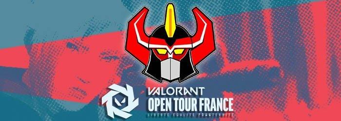 Megastitut remporte le Valorant Open Tour France
